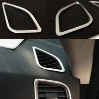 Decorative Cover Car Acc New Arrival High Quality 4pcs Chrome Interior Air Condition Vent Cover Trim