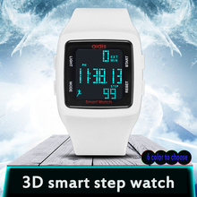 Men Women Running Pedometer Digital Watch Waterproof Function Student Wristwatch Electronic Watches Kid Sports Reloj Montre LED
