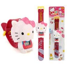Relogio Infantil 2019 Hello Kitty Children Cartoon Watch Fashion Kids