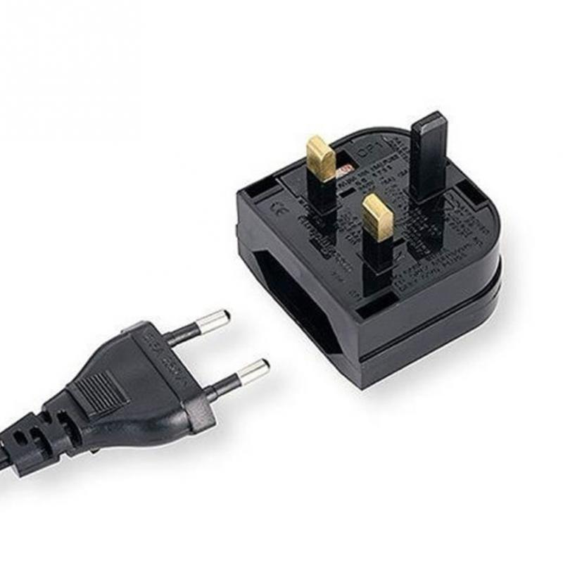 New European Euro EU 2 Pin to <font><b>UK</b></font> <font><b>3Pin</b></font> <font><b>Plug</b></font> Adapter Power Socket Travel Converter Z09 Drop ship #0827 image