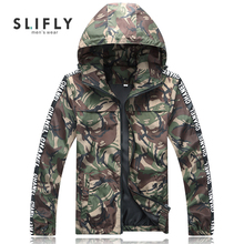 Mens Camouflage Jacket Fashion Casual Jaqueta Masculina Printing Partten Zipper Mens Jackets And Coats Outwear Hooede Erkek Mont