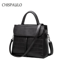 Luxury Brand Handbags Women Bags 2018 Designer Messenger Genuine Leather Bags For Women Fashion Ladies Shoulder Crocodile X68