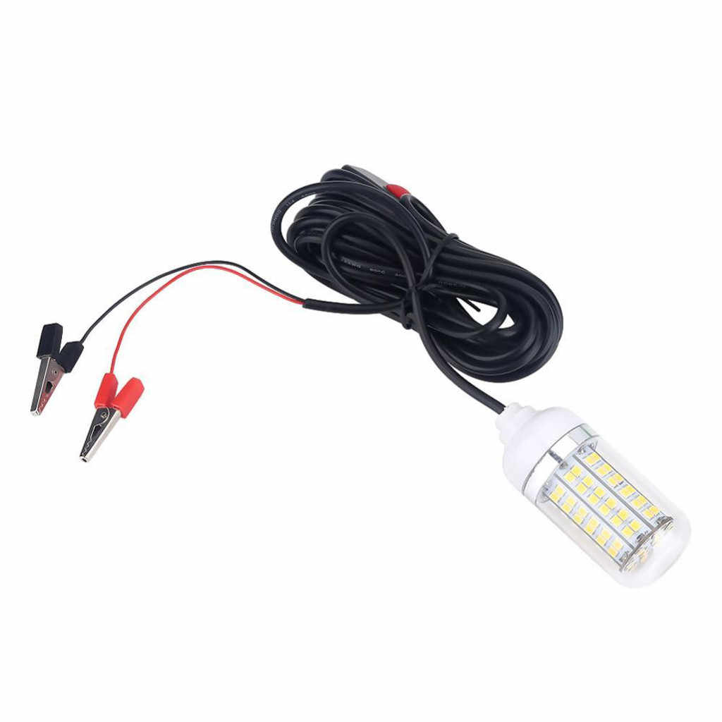 CHAMSGEND 12V светодиодный с резиновым покрытием рыболовная свет Рыболокаторы светодиодный светильник лодка светодиодный подводный прожектор Drosphipping Z0708