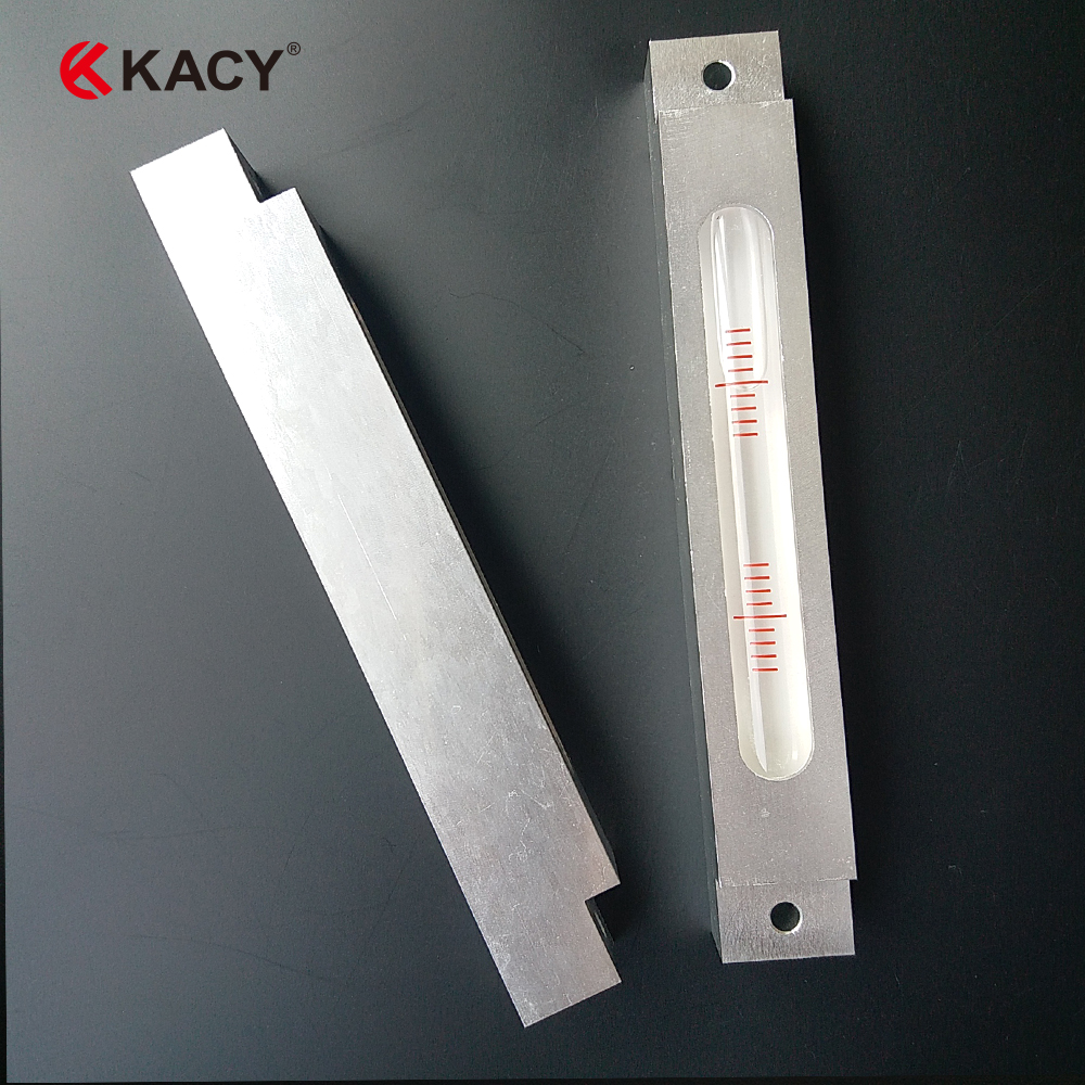 KACY Free shipping 4/2mm 1pc 142X20X22MM Metal Spirit Level,Long strip metal Bubble level variety models available round bubble level mini spirit level bubble bullseye level measurement instrument