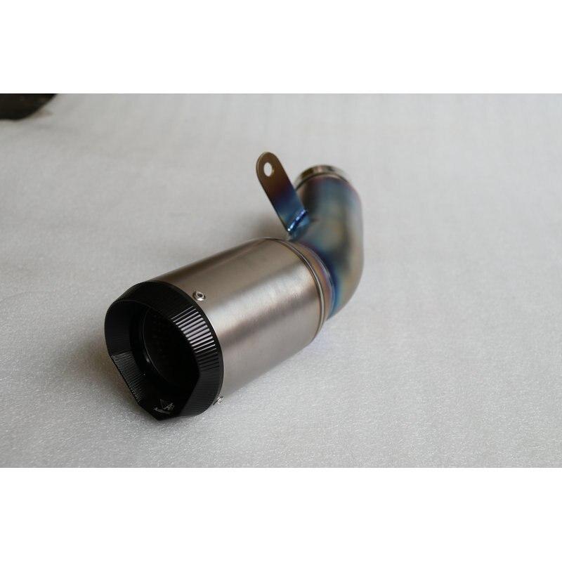 MOKALI Customized AR titanium escape de motocicleta exhaust pipe s1000rr S1000RR 15 16 year pot echappement silencieux moto