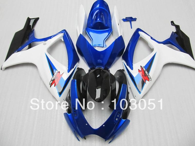 Customize body work fairings kit for Suzuki 2006 2007 GSXR 600 750 06 07 GSXR750 K6 motorcycle Bodywork Fairing set