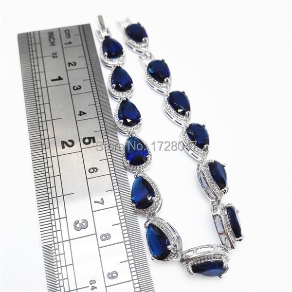 Bracelet Argent Et Lapis Lazuli