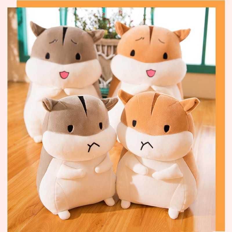 25 см хомяк плюшевый Мягкая Кукла Kawaii плюшевая игрушка для детей аппетитные спящие милые мягкие игрушки и плюшевые детские подарки на день рождения