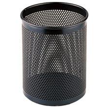 Металлический Сетчатый квадратный черный держатель для ручек