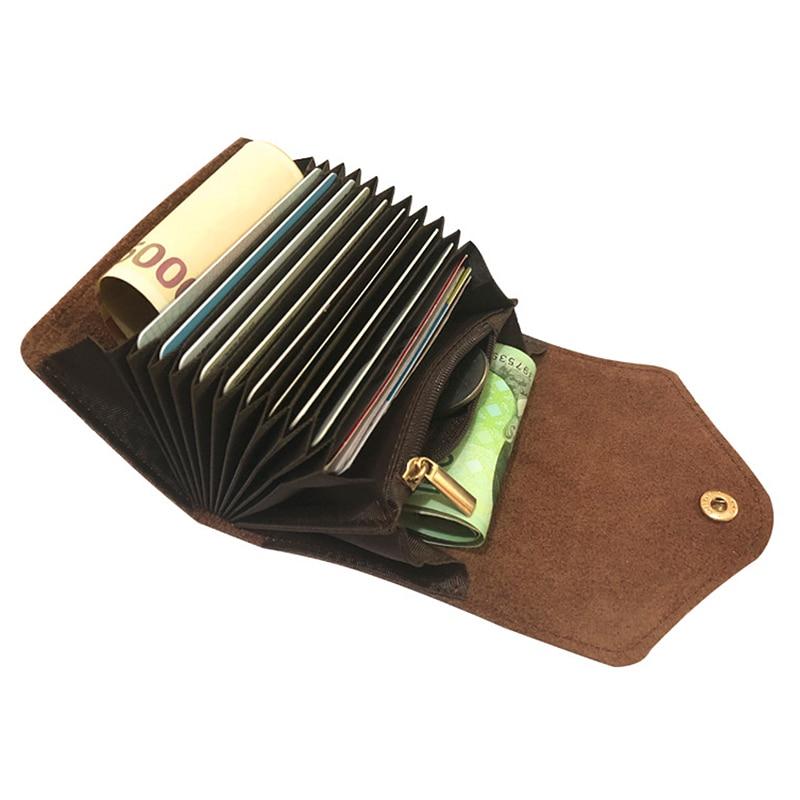 Zipper Women's Coin Purse Hasp Design Card Holder Genuine Leather Wallet For Woman Zipper Female Clutch Bags