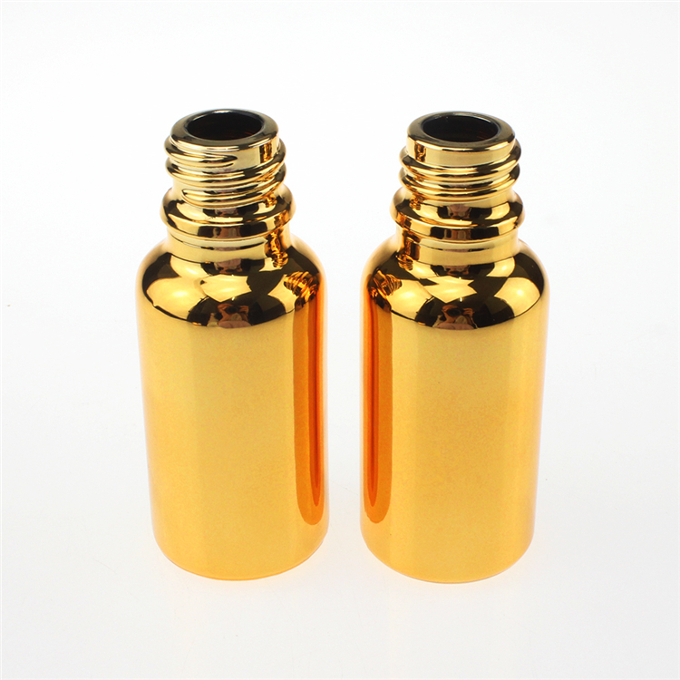 100PCS luxury 20ml essential oil sample bottle with aluminum screw cap wholesale special 20ml glass essential oil perfume bottle in Refillable Bottles from Beauty Health