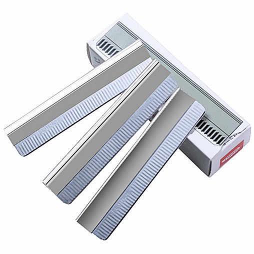 10 шт. Высший сорт Японии Cr06 стальная безопасная нож для бритья для удаления волос Бритва для бровей лезвия бритвы лезвия для бритвы Триммер для бровей