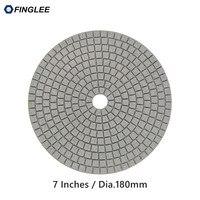 5pcs Lot 7inch 180mm Granite Marble Concrete Ceramic Wet Diamond Polishing Pads