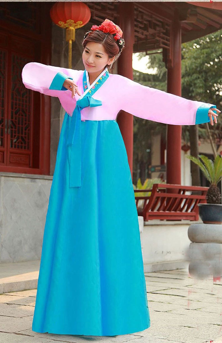 2016 New Korean Hanbok Formal Dresses Asia Traditional Clothes ...