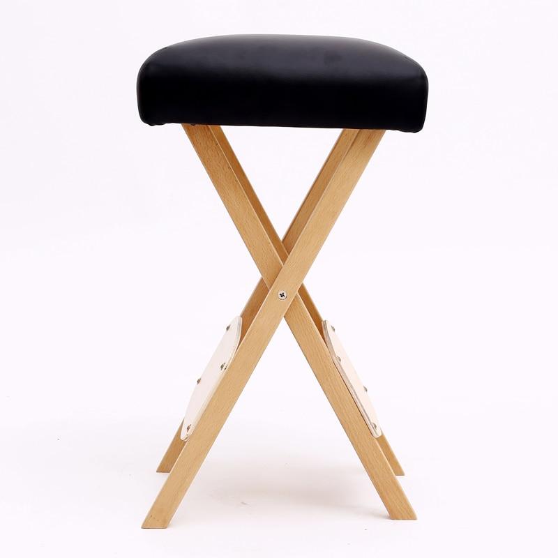 Popular folding wood stools buy cheap folding wood stools for Cheap tattoo tables
