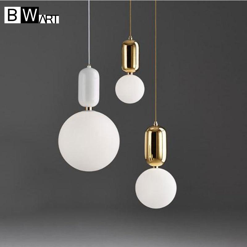 BWART Chandelier led lamp Lights American Country Vintage retro Lighting light for Kitchen Dining Room suspendus lustre lamps