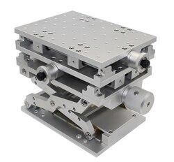 Портативный 3D верстак Лазерная Маркировка Гравировальный станок 3 оси подвижный стол 210x150x150 мм оптический эксперимент XYZ ось Таблица Y