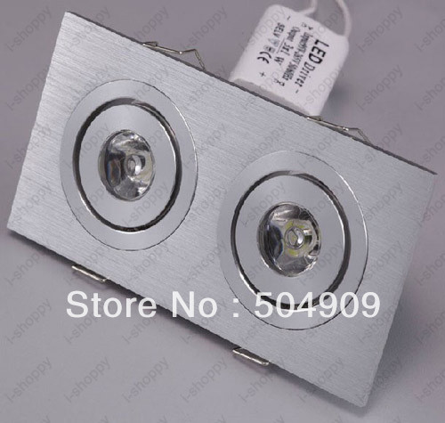 2w high power 2 led recessed ceiling down cabinet light fixture 2w high power 2 led recessed ceiling down cabinet light fixture downlightspotlight bulb mozeypictures Choice Image