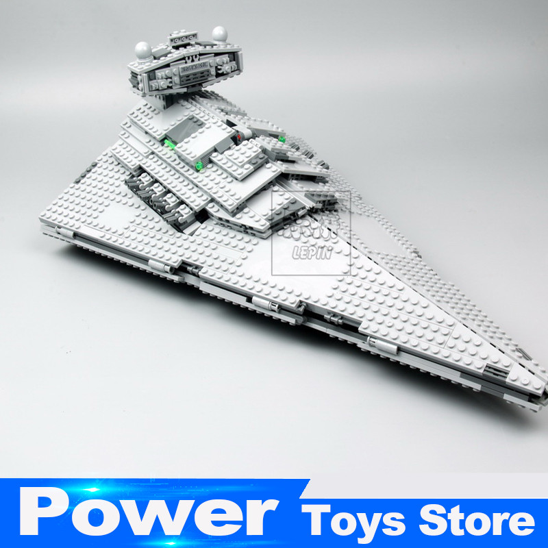 New Lepin 05062 1359pcs Star War Series The Imperial Super Star Destroyer Set Building Blocks Bricks Christmas legoed 75055 Toy lepin 05028 3208pcs star wars building blocks imperial star destroyer model action bricks toys compatible legoed 75055