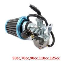 19mm Carburador & Filtro de Ar para 50cc 70cc 90cc 110cc 125cc ATV Dirt Bike Go Kart Carb Carburador Livre grátis