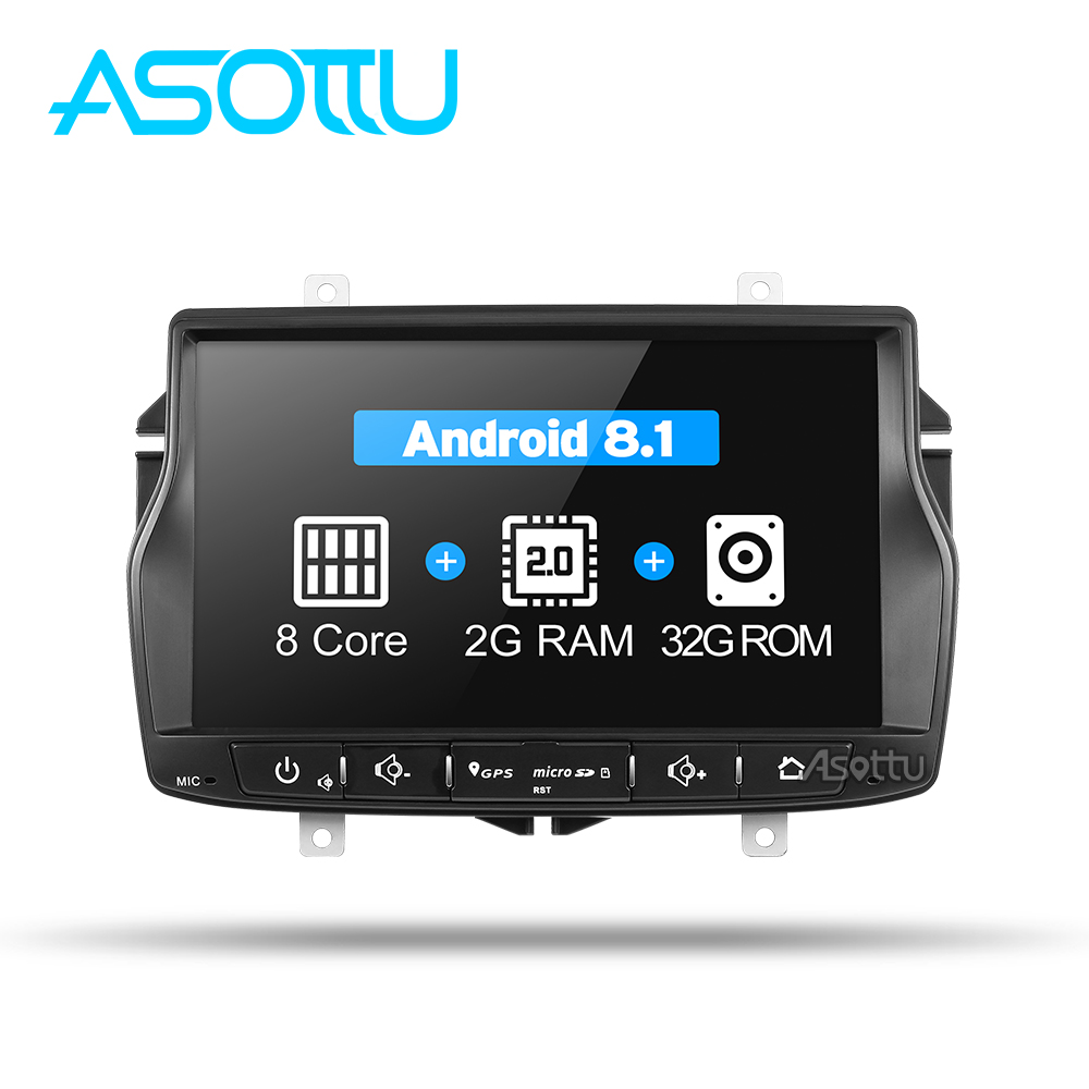 Asottu CLDA8071 2G+32G android 8.1 car dvd for Lada Vesta car radio video audio player gps navigation car stereo player