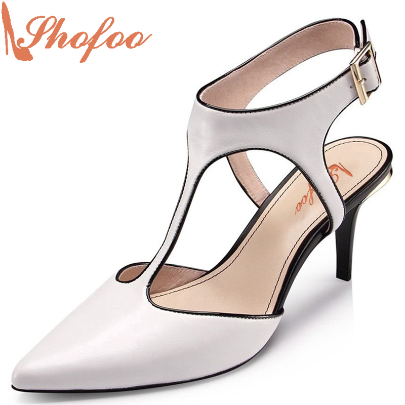 Shofoo 2017 Summer Women Pointed Toe Med-Heels Ankle Strap Dress&Party&Evening&Wedding Sandals Woman Shoes,Large Size 4-16 автотрек двойной hti teamsterz динозавр трицератопс с 2 машинками