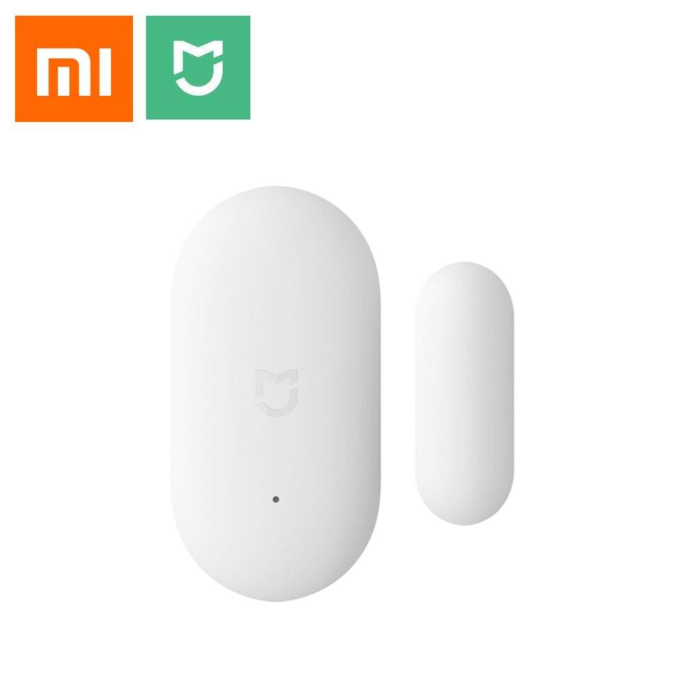 Original Xiaomi Door Window Sensor Pocket Size Xiaomi Smart Home Kits Alarm System Work With Gateway Mijia Mi Home App