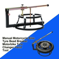 Mechanics Workshop Garage Manual Motorcycle Motocross Bike Tyre Bead Breaker Motorbike Tyre Changer Hand Tool