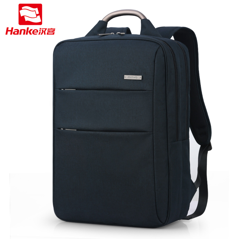 Hanke Business Laptop Backpack 17 inch fit for 15.6'' Notebook Computer Backpacks Men Women 2018 Travel School Bags for Girl Boy jacodel laptop bagpack 15 inch notebook backpack travel case computer pc bag for lenovo asus dell notebook 15 6 inch school bags
