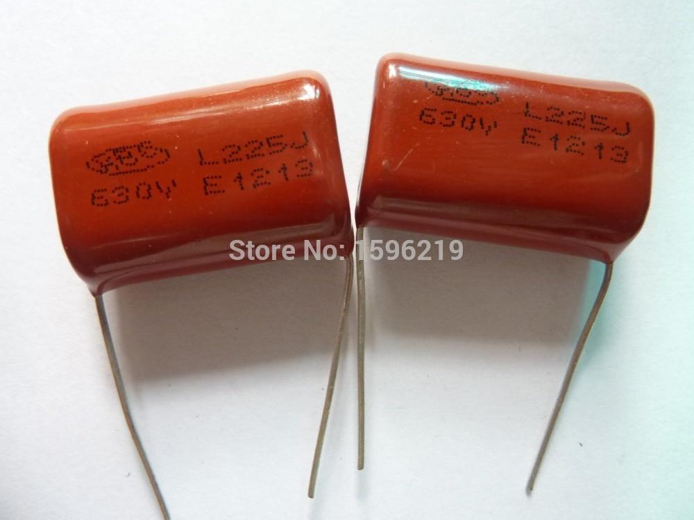 2pcs AC 225J 2.2uF 630V Audio Capacitor 225J new