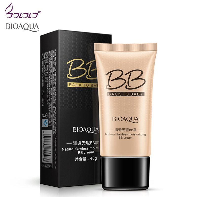 BIOAQUA Natural Pore Cover Moisturizing BB & CC Creams Whitening Beauty Face Cosmetics Foundation Makeup Base Concealer