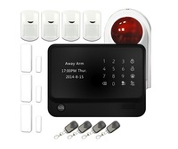 433mhz  mobile phone APP  control wireless smart home automation GSM Home Alarm System with LCD touch for alarm home security|system alarm|system alarm gsm|system security -