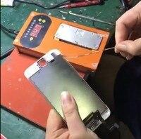 Mobile Phone Screen Stent Separator Tear Down Frame Remove Frame Heating Platform Frame Remove Machine For