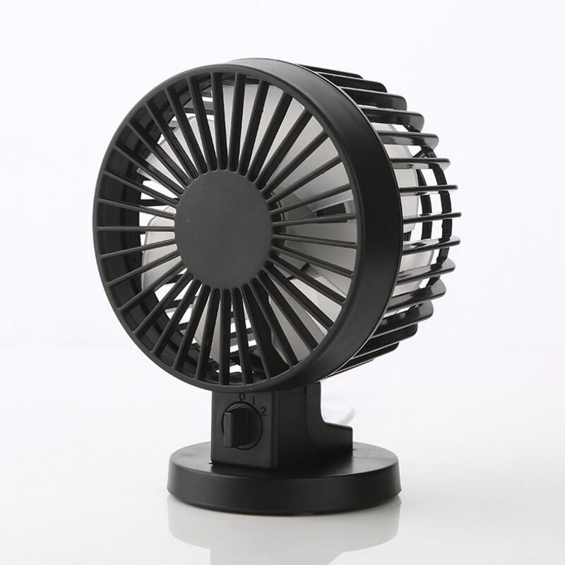 Small Electric Fans For Home : Portable creative double vane mini usb desk fan for home