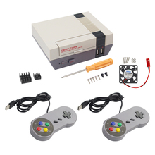 Buy Raspberry Pi 3 NES NESPi Case Retroflag for RetroPi + Game Controller Pad + 32G SD Card + Fan + Heat Sink + 3A Power Adapter