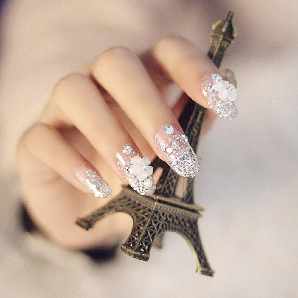 3D Nail Art Decorations Acryl Diamant Vormen Steentjes Voor Nagels ...