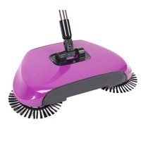 Sweeping Machine Vacuum Cleaner Without Electricity Household Hand Push Sweeper Broom Dustpan And Trash Bin Furniture