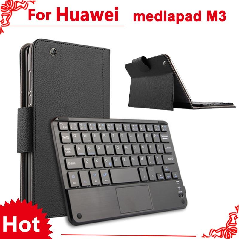 цена на For huawei mediapad M3 8.4 case Wireless Bluetooth Keyboard Case For huawei mediapad M3 BTV-W09 BTV-DL09 Keyboard case cove