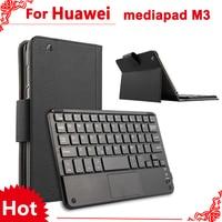 For Huawei Mediapad M3 8 4 Case Wireless Bluetooth Keyboard Case For Huawei Mediapad M3 BTV