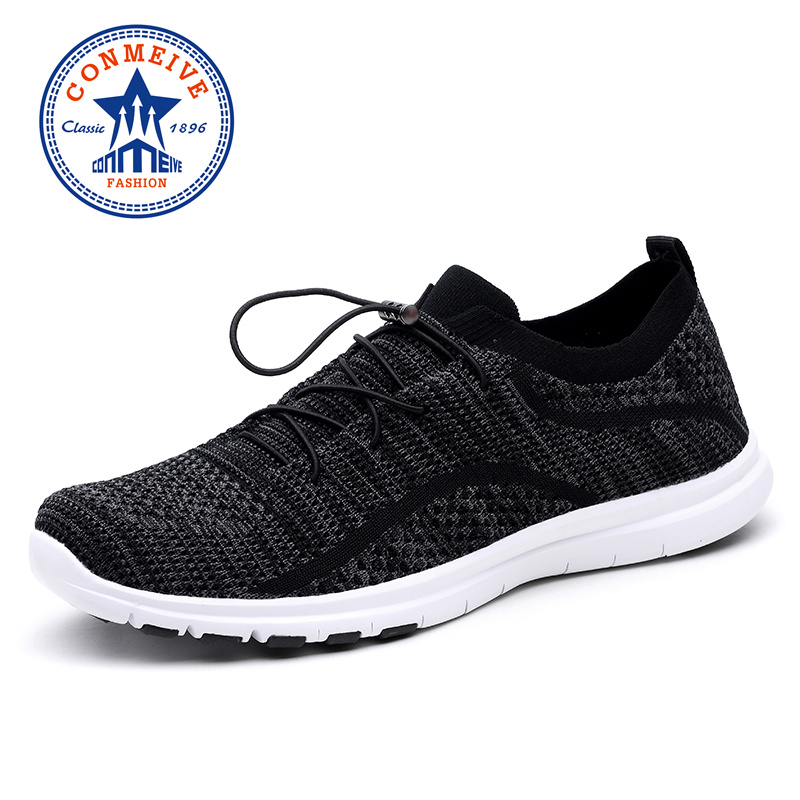 Breathable Mesh Man Sneakers Cushioning Running Shoes for Men Spring and Summer Male Sneaker Outdoor Jogging Light Sport Shoe