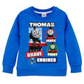 2017 New Spring Thomas&Friends Long Sleeve T-shirts for Boys Cotton Cartoon Pullover Kids Clothing for Girls Hooded Sweatshirt