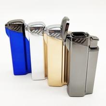 Four Tube  Blue Flame Spray Gun Electronic Lighter gas 1300C Torch Lighters Turbo Cigar Cigarette