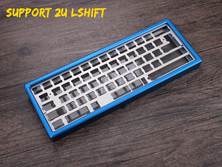 xd60 xd64 gh60 60 Anodized aluminum Case for diy Mechanical Gaming Keyboard