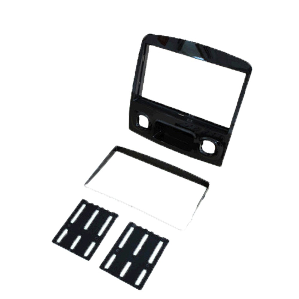 2 Din Car Frame Kit / Car Fascia Panel / Audio Panel Frame / Car Dash Kit For Ford Escape 2012 2013 (Black)
