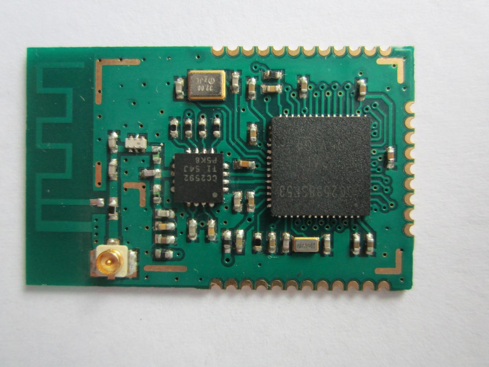 CC2538+CC2592 PA Zigbee Wireless Module zigbee wireless module long distance cc2530 cc2591 pa module