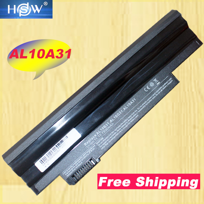 HSW Laptop <font><b>battery</b></font> for <font><b>Acer</b></font> <font><b>Aspire</b></font> <font><b>One</b></font> <font><b>722</b></font> AO722 D257 D257E AL10A31 AL10G31 Netbook 9cell image