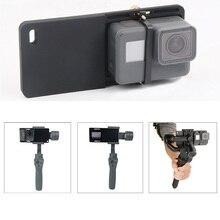 Mocowanie kamery płyta adapter do gopro Hero 7 6 5 4 Yi 4K DJI Osmo 2 3 Gimbal ręczny Zhiyun gładka 4 komórkowy kardana ręczna