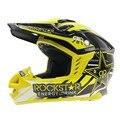 Rockstar Racing Motocross Casco Downhill Motor Bici de La Suciedad Capacete moto Casco ROC2017