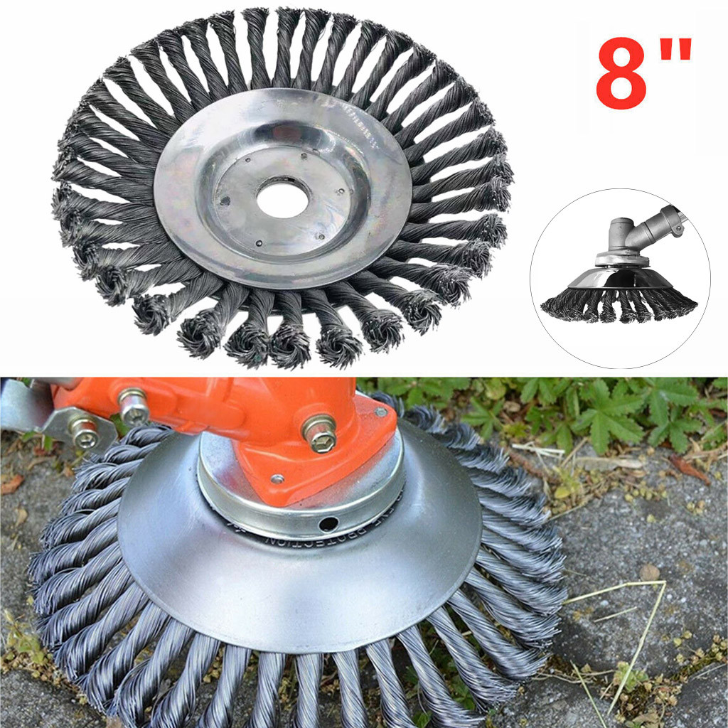Brush-Cutter-Tools Trimmer Wheel Razors-Lawn Lawn-Mower Steel-Wire Weed Garden Eater