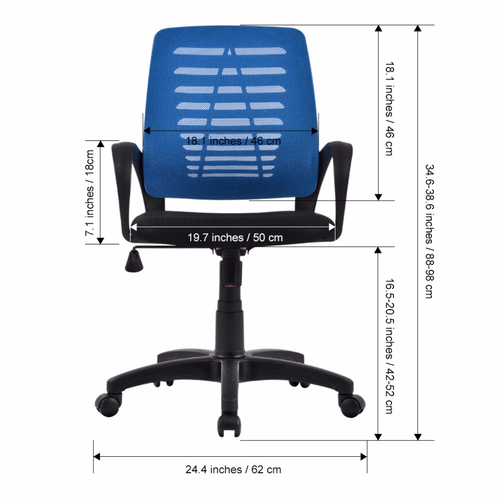Terrific Us 66 99 Us Ergonomic Mid Back Mesh Swivel Computer Task Office Chair With Adjustable Height Executive Boss Office Chair Gamer Chair In Office Gmtry Best Dining Table And Chair Ideas Images Gmtryco